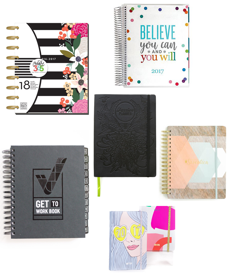 Top 2017 Planners!
