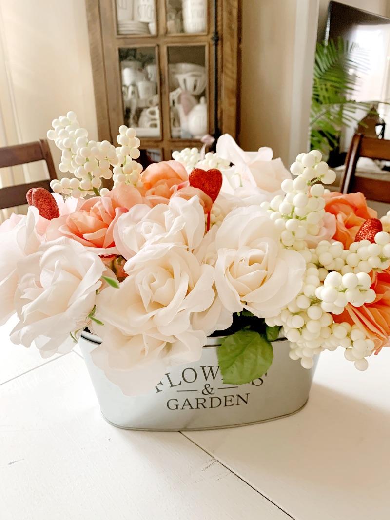Floral Arrangement for Valentine's Day!