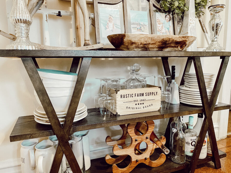 Alternative Bar Cart Ideas