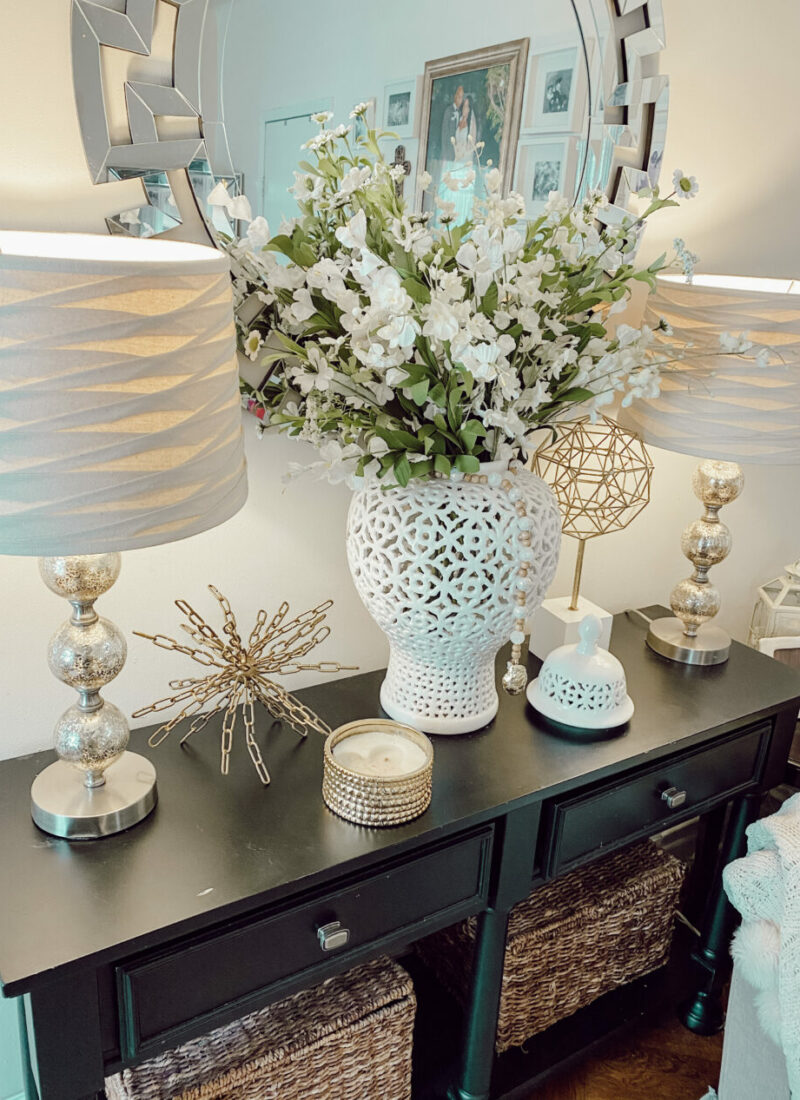Decorate a Console Table