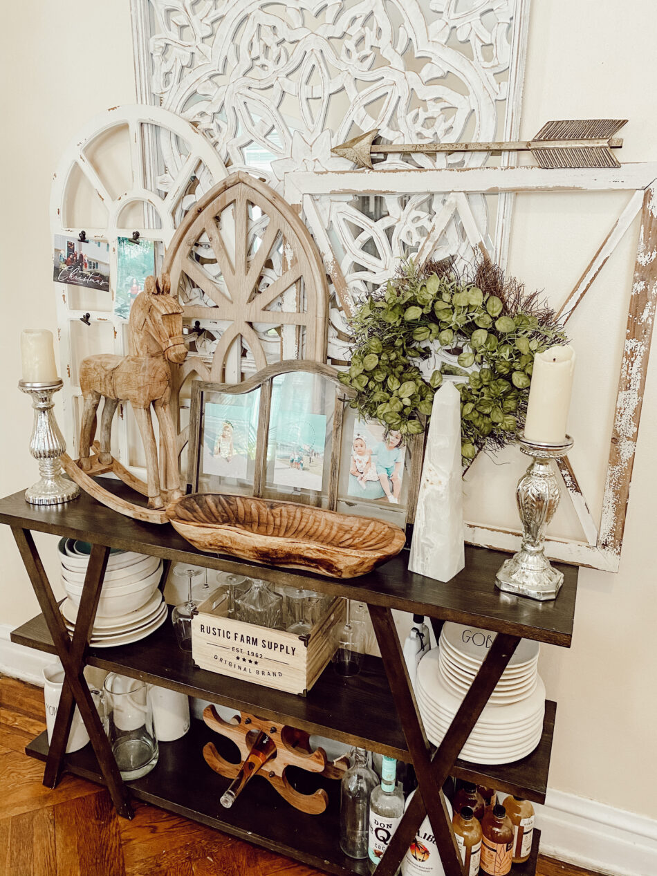 Decorate your console table.